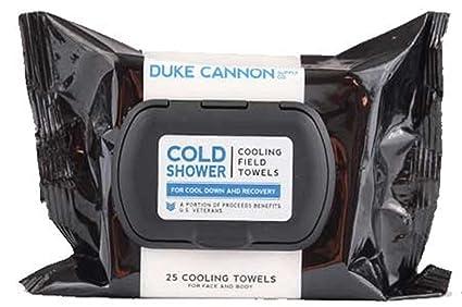 Duke Cannon Ducha fría refrigeración campo toallas de menta fresca (número 25)