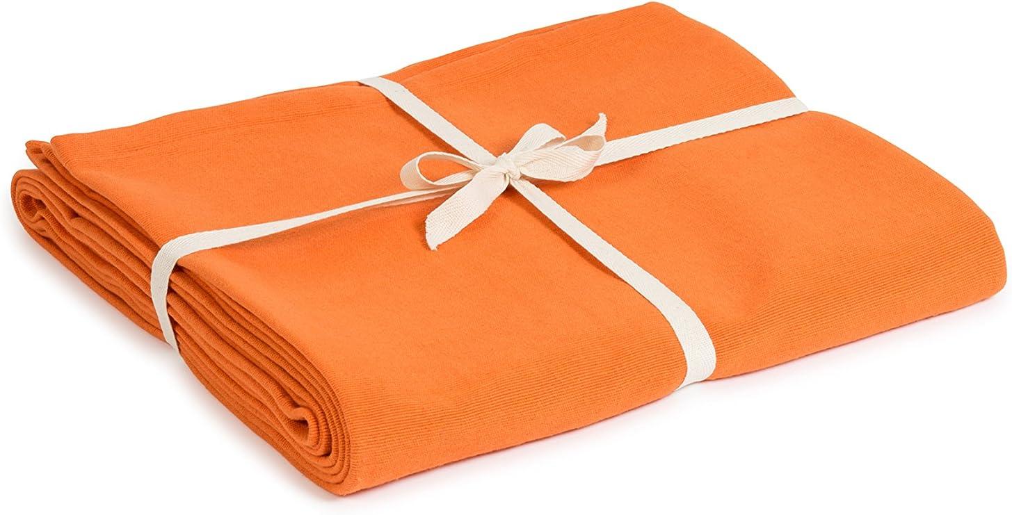 Yoga Studio Blanket/Saffron/YS Manta de Yoga (algodón orgánico), Unisex Adulto, Azafrán, Normal: Amazon.es: Deportes y aire libre