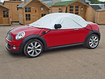 Half Size Mini Roadster R59 2012 Onwards Car Cover Amazoncouk