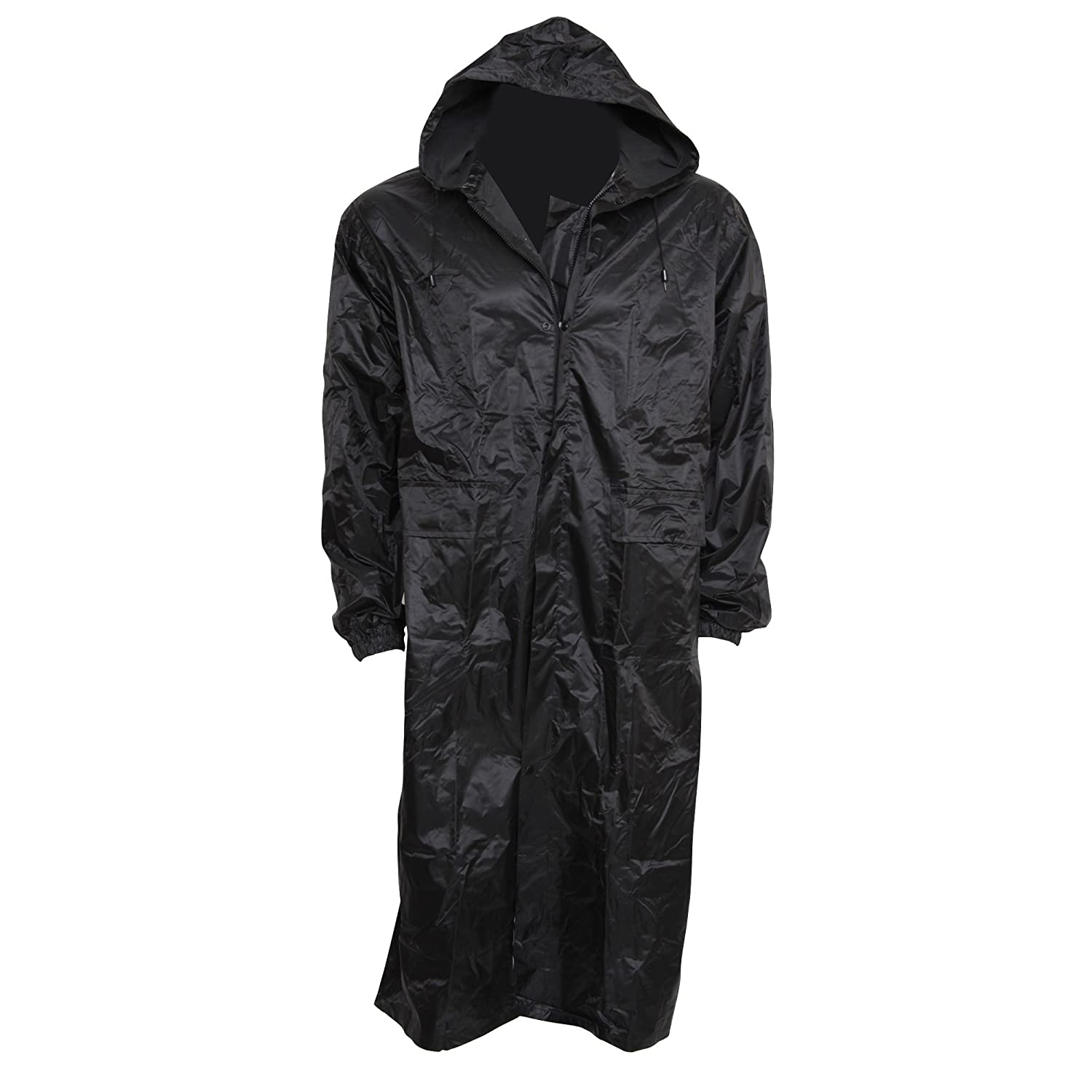 Mens Waterproof Hooded Rain Coat at Amazon Men's Clothing store: