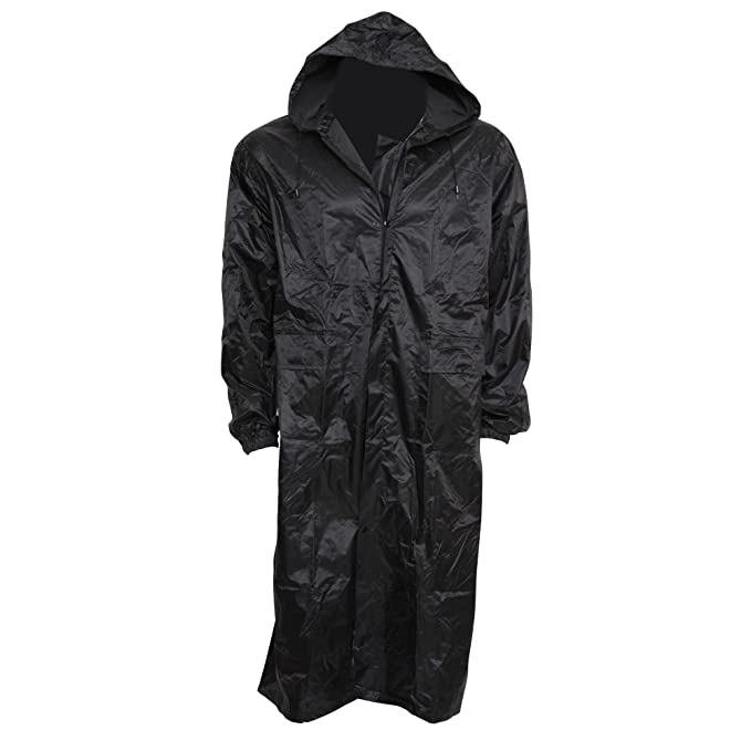 select for original los angeles wide selection of colours and designs Mens Waterproof Hooded Lightweight Long Outdoor Rain Coat