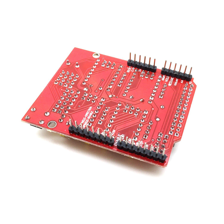 impresoras 3D compatibles con Arduino Uno Placa de expansi/ón AptoFun CNC V3.0 A4988 DRV8825 para m/áquinas de Grabado