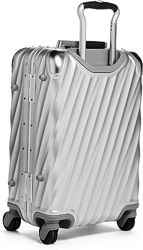 Tumi Men s 19 Degree Aluminum International Carry On, Silver, One Size