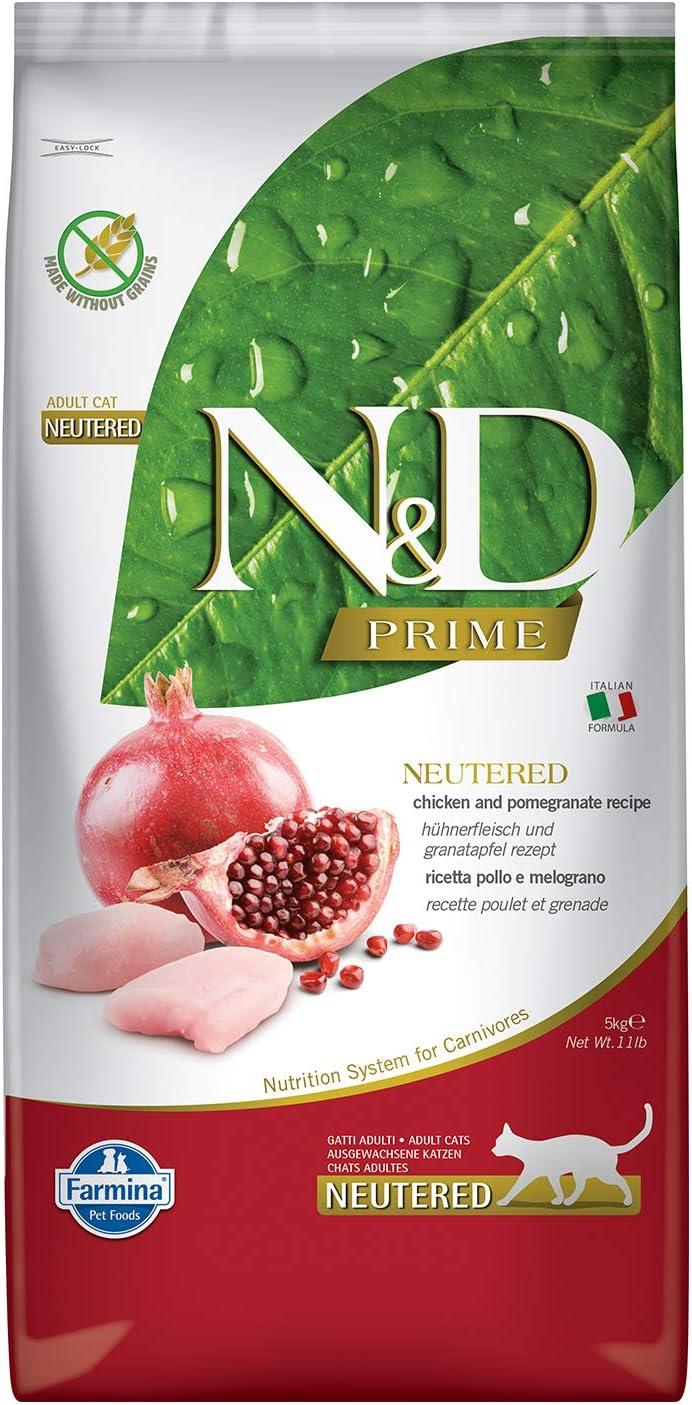 Farmina–ndgr. ainfree Neutered Pollo y melogr. Ano 5kg.–Gato