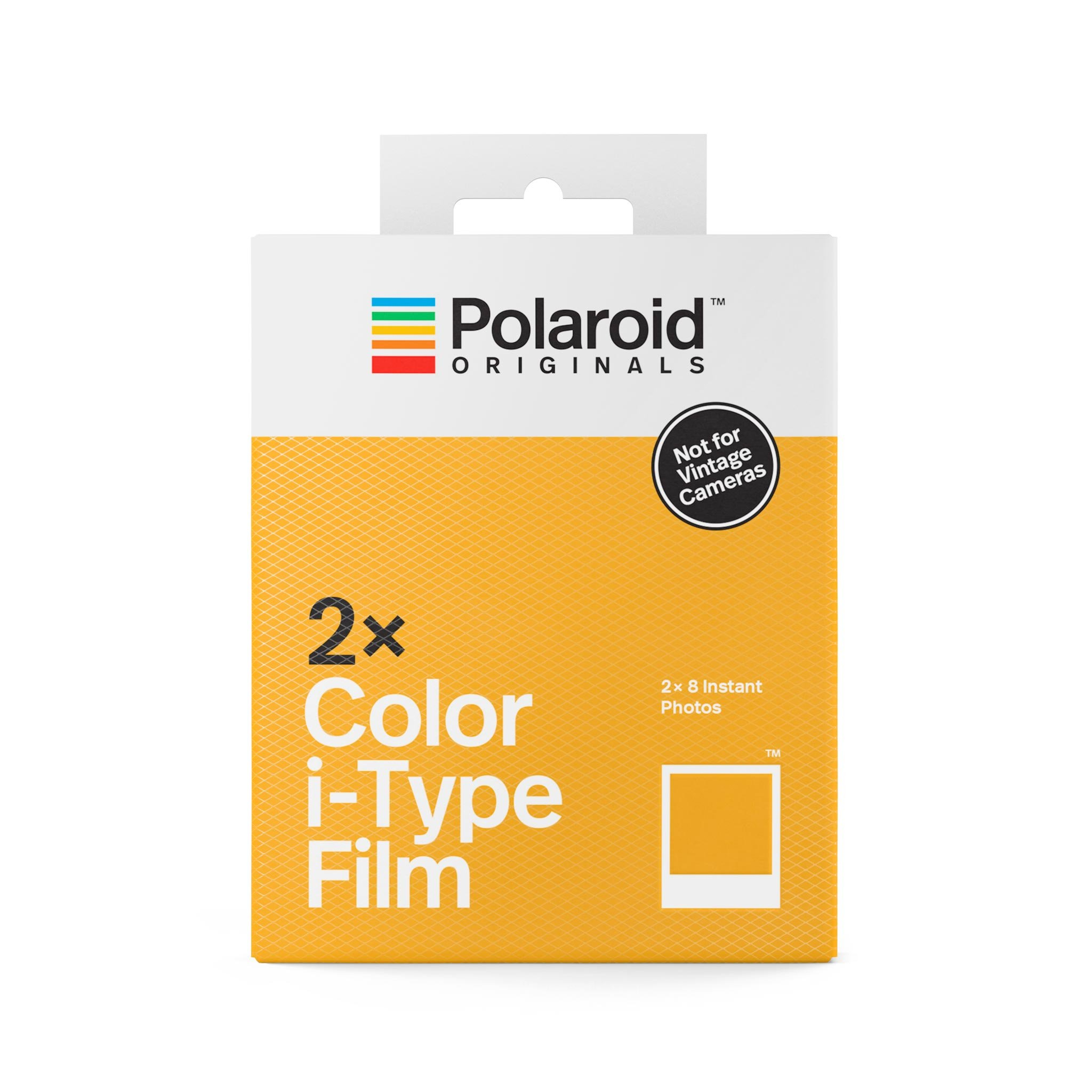 Polaroid Color I-type Film White X 2