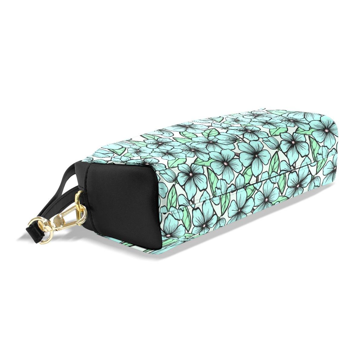 BENNIGIRY Schwarz Weiß Blossom Blossom Blossom Bleistift Fall tragbar Pen Tasche Student Schreibwaren Pouch PU Leder Groß Kapazität Reißverschluss Make-up Kosmetiktasche B07BF98NGY       Vorzugspreis  3ab21d