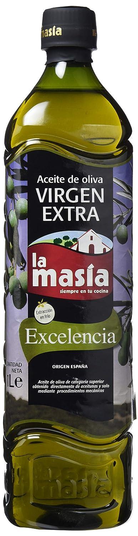 La Masia Excelencia Aceite de Oliva Virgen Extra - 1 l: Amazon.es: Amazon Pantry