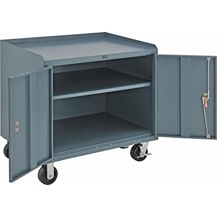 Phenomenal Amazon Com Mobile Cabinet Bench 36 X 26 Gray Home Creativecarmelina Interior Chair Design Creativecarmelinacom
