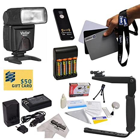 Dedicado E-TTL rebote Zoom Kit de Flash para la Nikon D40, D40 x ...