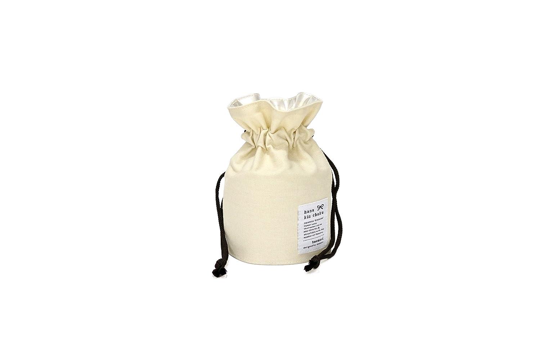 花瓶 花巾着 フラワーベース 花器 生花 一輪挿し おしゃれ 割れない 軽量【Sサイズ】 (ナチュラル) B072HH2CJBナチュラル
