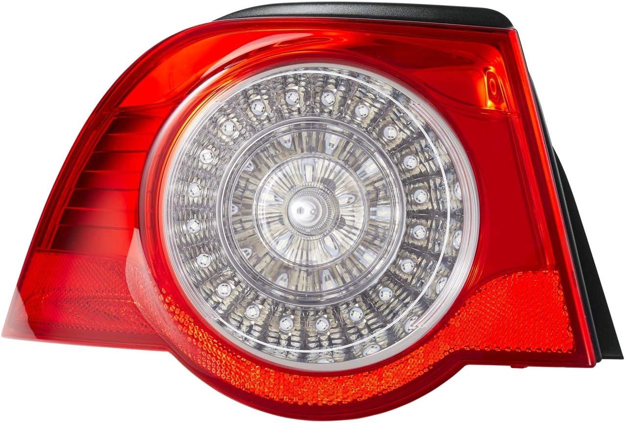 Hella 2va 009 246 091 Heckleuchte Led Glasklar Rot äusserer Teil Links Auto