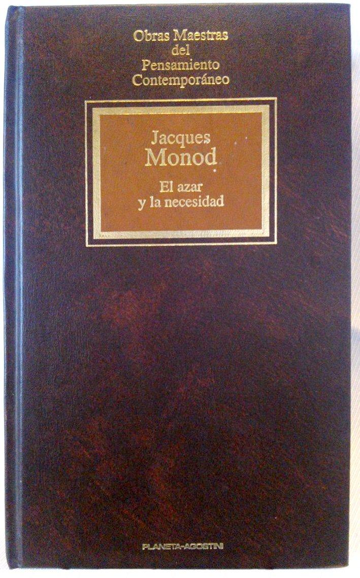 EL AZAR Y LA NECESIDAD: Amazon.es: Monod Jacques: Libros