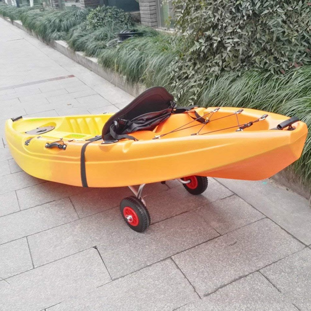 Wgwioo Kayak Trolley Canoe Boat Carrier Plegable Dolly Tote Transporte Remolque Carrito Ruedas: Amazon.es: Deportes y aire libre