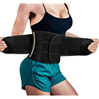 Women Waist Trimmer Trainer Fat Burner Slimming Weight Loss Belt with Sauna Effect