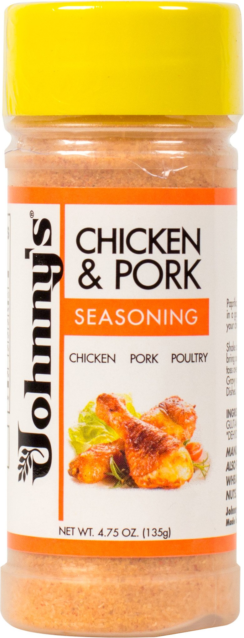 Johnny's Chicken and Pork Seasoning, 4.75 Ounce (Pack of 6)