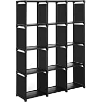SONGMICSCubos de Almacenamiento, Librería con12Compartimentos,…