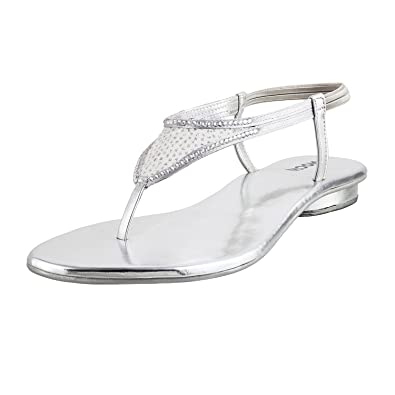 80d6697c5ac8 MOCHI Women SILVER SYNTHETIC  Buy Online at Low Prices in India ...