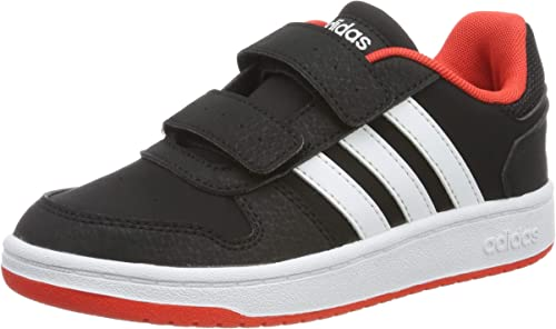 adidas Hoops 2.0 CMF C, Chaussures de Basketball Mixte Enfant