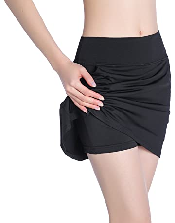 89339b0e86f EAST HONG Women s Pocket Golf Skorts Workout Running Tennis Skirt with  Inner Shorts