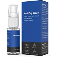 Adepoy Anti-Fog Spray for Glasses, Safe on All Lenses, Prevents Fogging of Glass or Plastic Windows, Mirrors, Eyewear…