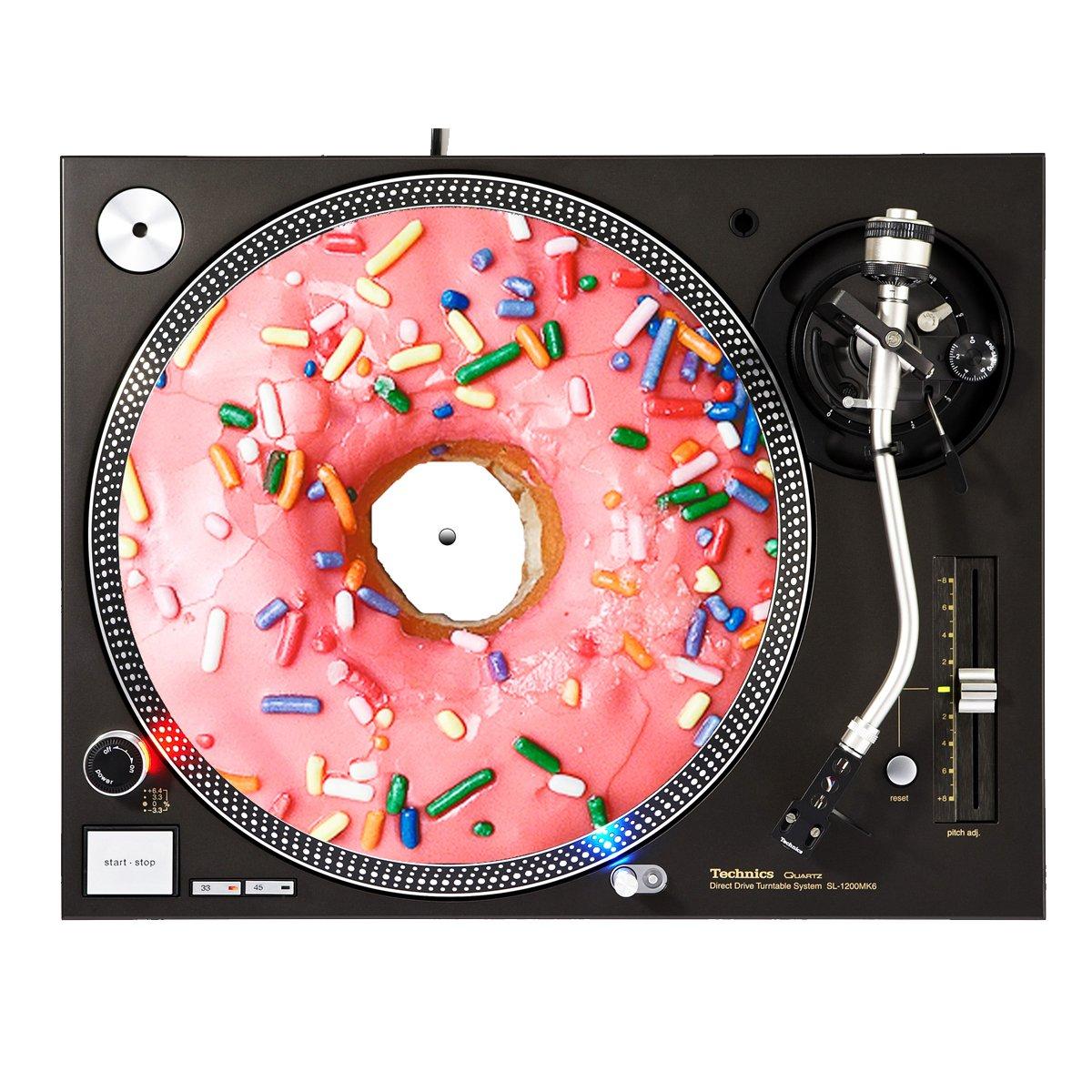 Donut Sprinkles - DJ Turntable Slipmat Sunshine Design Cases Slipmat-262