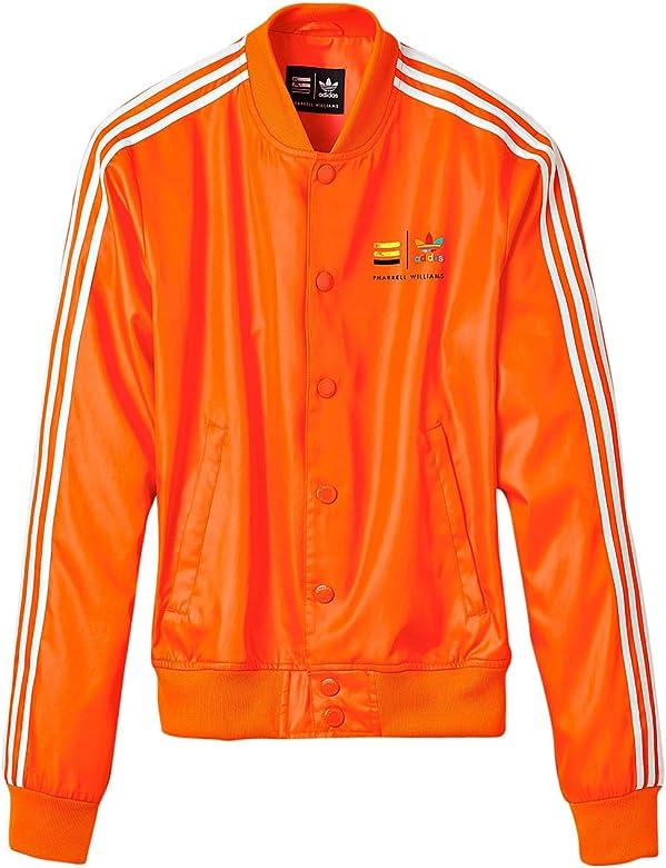 adidas Originals Unisex Naranja en Chaqueta de chándal tamaño XL ...