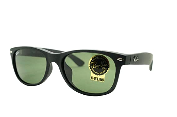 737052412ca8f Image Unavailable. Image not available for. Colour  Ray-Ban New Wayfarer  Matte Green Classic Alternate Fit Sunglasses