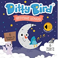 Ditty Bird Our Best Interactive Bedtime Songs Book for Babies. Illustrated Music Singing Board Book. Educational Musical…