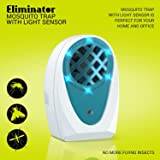 Indoor Plug-in Mosquito and Fly Trap by Eliminator, with Bright LED UV Light Attracter and Fan Catcher and Killer / Get Rid of All Flies – Mosquito Trap for Residential and Commercial Use