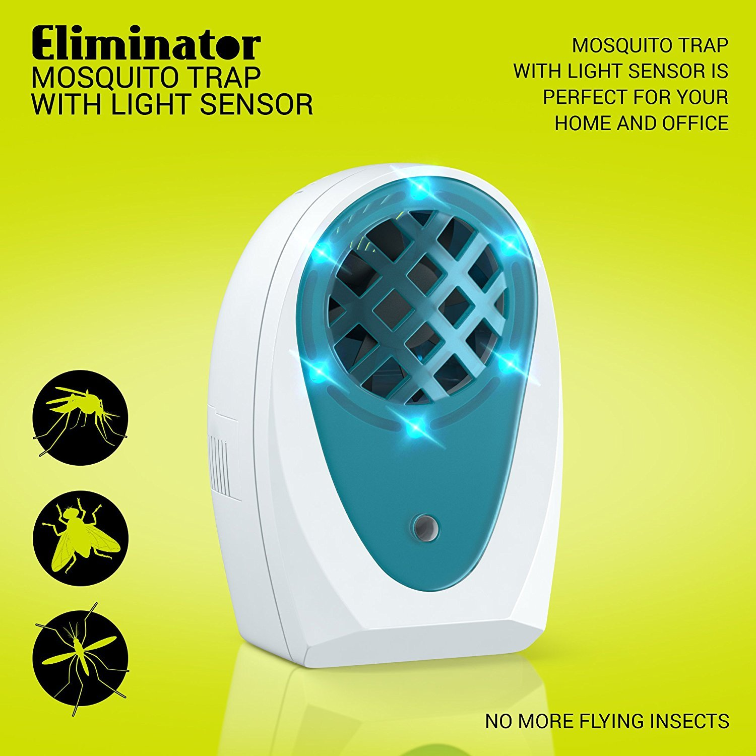 Eliminator Indoor Plug-in Mosquito and Fly Trap by Eliminator (Image #3)