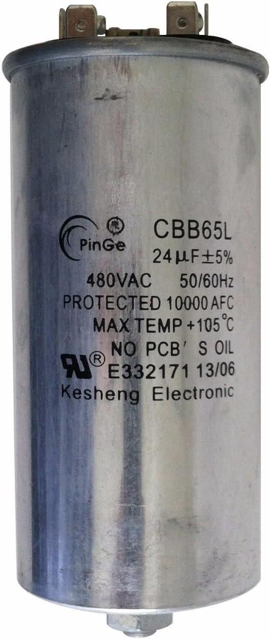 1 Piece Capacitor 26uF//300VAC 120-480 Volt for Metal Halide 350 Watt-PS
