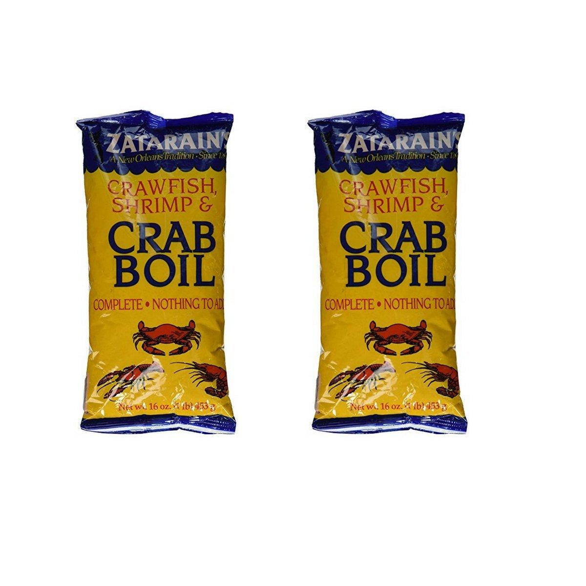 Zatarain's Shrimp & Crab Boil 16oz. (2pk.)