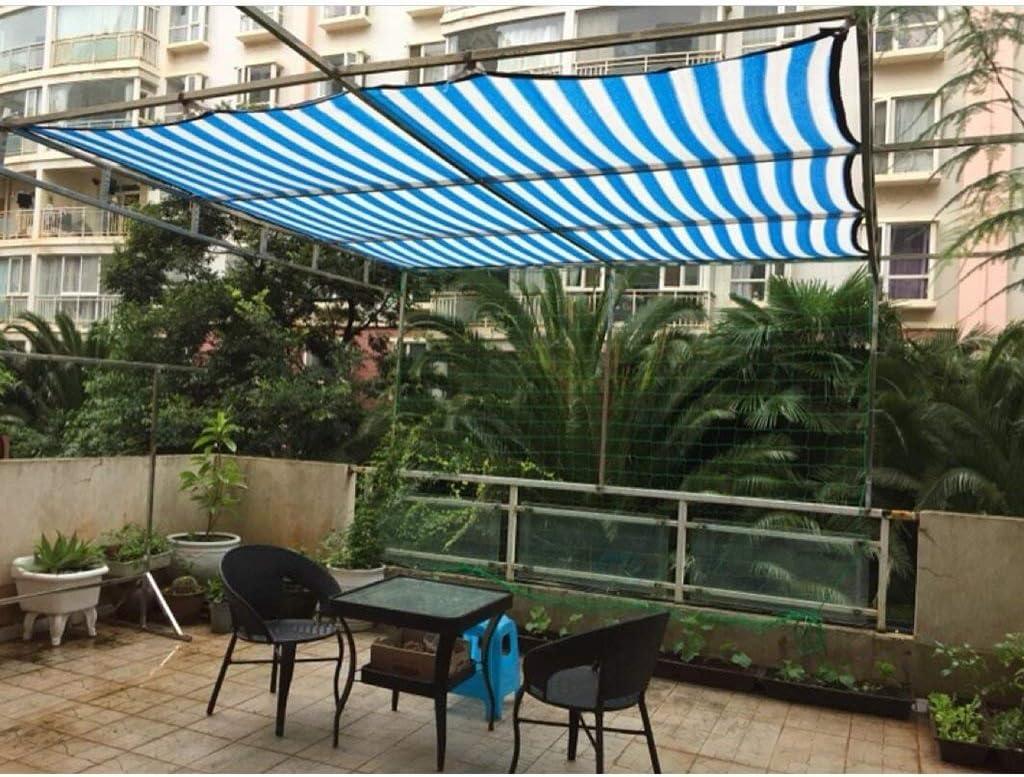 BYZ Color Shade Net, Sunscreen Net, Muebles Jardín Red Sombreado Net Toldo Protector Solar Aislamiento Balcón Patio Techo Aislante Red Invernadero Cubierta de la Planta, Paño de protección Solar,2 *: Amazon.es: Deportes