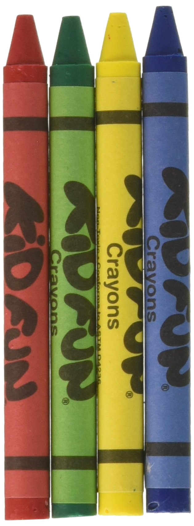 U.S. Toy 4-Pack Kid Fun Crayons - 72 Packs