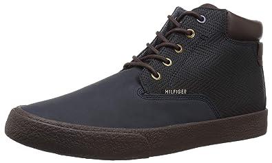 7f9c2cd8d0509b Tommy Hilfiger Men s PASTOL Sneaker Navy 7 Medium US