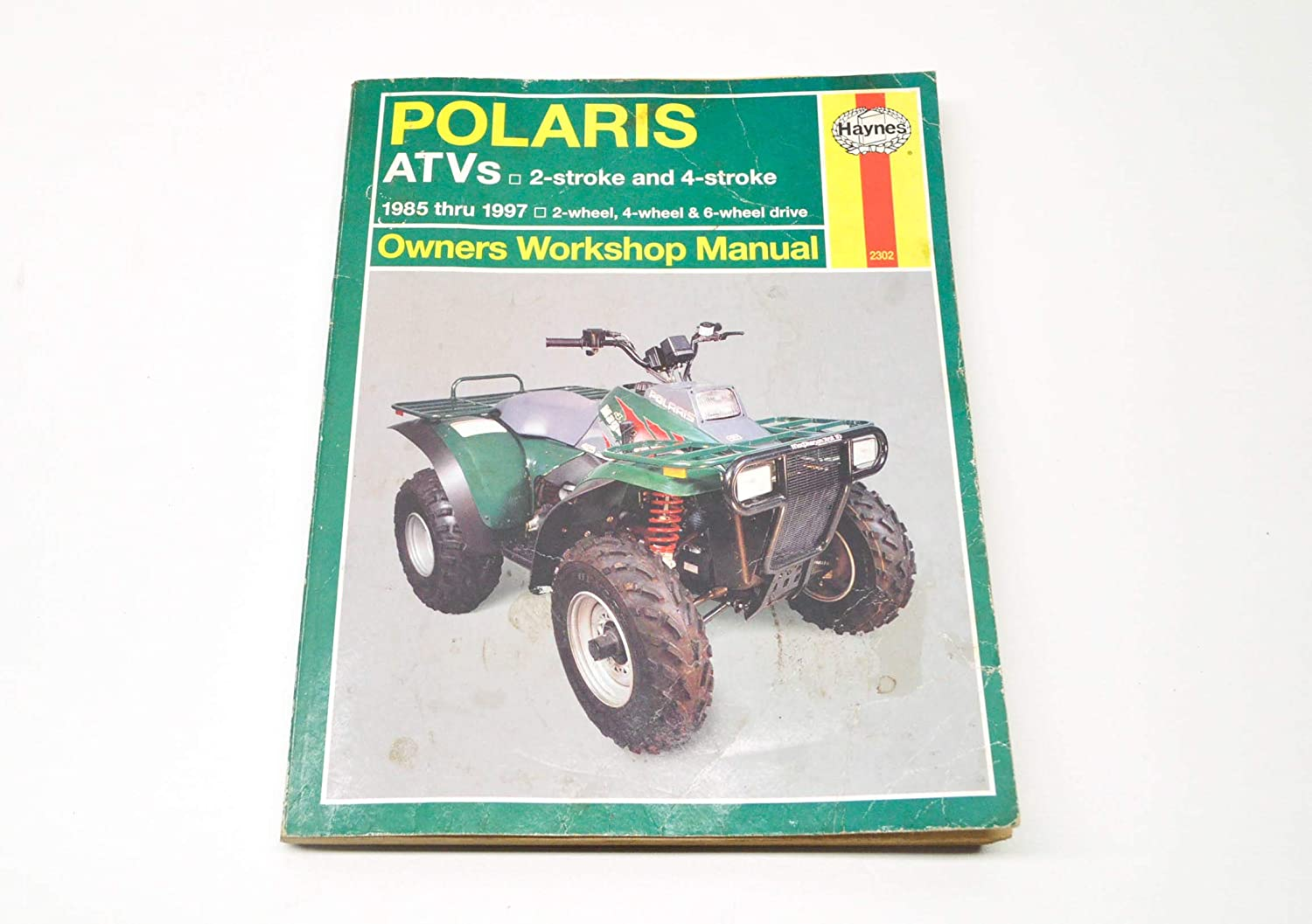 Amazon.com: HAYNES 2302 REPAIR SERVICE MANUAL POLARIS ATVS (ALL) 1985-1997:  Automotive
