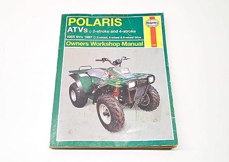 HAYNES 2302 REPAIR SERVICE MANUAL POLARIS ATVS ALL 1985 1997