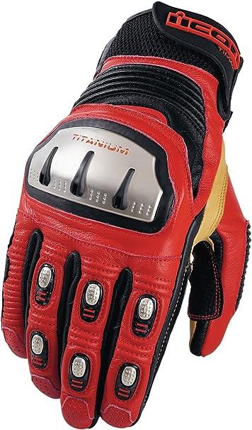 Icon Timax TRX corto guantes: Amazon.es: Coche y moto