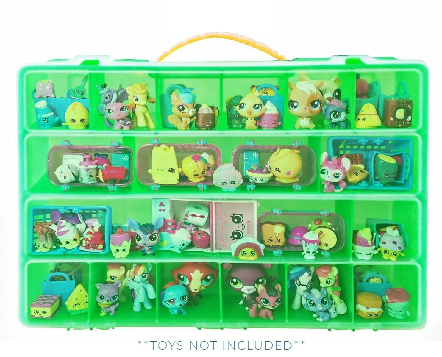 Shopkins Case, Toy Storage Carrying Box. Figures Playset Organizer. Accessories For Kids by LMB Life Made Better