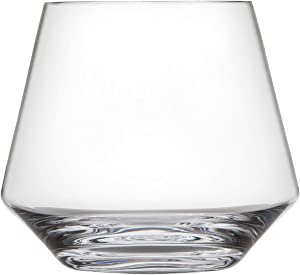 Schott Zwiesel Tritan Crystal Glass Pure Collection Stemless Burgundy Red Wine Glass, 16-Ounce, Set of 6