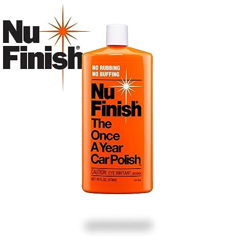 Nu Finish Liquid Car Polish, Better than Wax, 16 fl oz