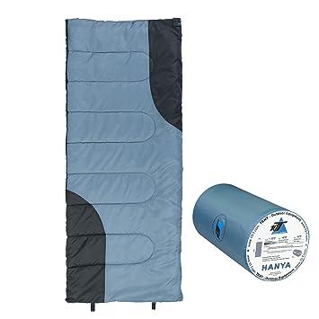 10T Outdoor Equipment 10T Hanya Saco de Dormir de Manta, Azul, Estándar: Amazon.es: Deportes y aire libre