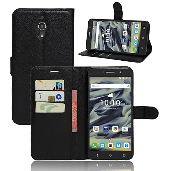 sneakers for cheap 9505d a73c5 Alcatel Pixi 4 6.0 inch (4G) Case,Gift_Source [Card Slots] [Stand View]  Premium Litchi Texture PU Leather Holster Magnetic Folio Flip Wallet Case  ...