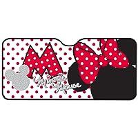 Mickey Mouse 26061 Minnie Mouse Sonnenblende für die Frontscheibe. Aluminium-Luftpolster, 130 x 70 cm,1 Stück