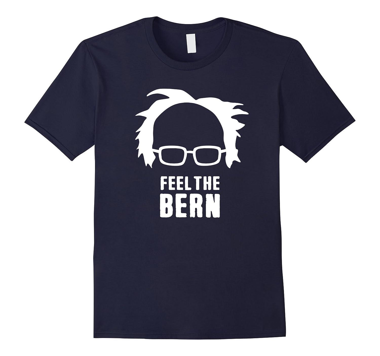 Bernie Sanders Hair And Glasses - Feel The Bern T-Shirt-TH