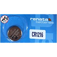 CR1216 Lithium Coin Cells - Strip of 5 Batteries