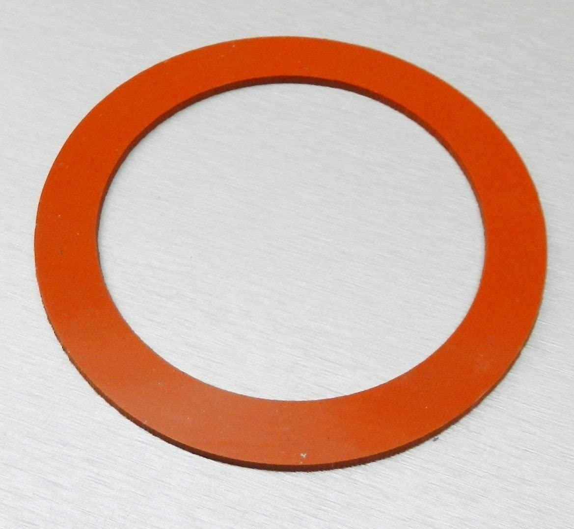 """3"""" SILICONE GASKET FOR VACUUM CASTING PERFORATED FLASKS JEWELRY LOST WAX CASTING"""