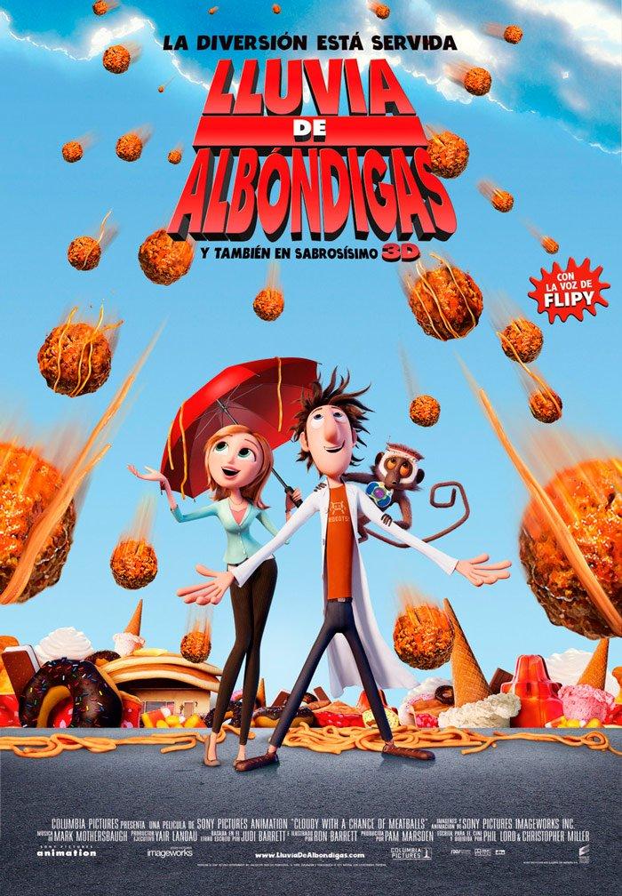 Lluvia De Albondigas - Bd [Blu-ray]: Amazon.es: Personajes ...