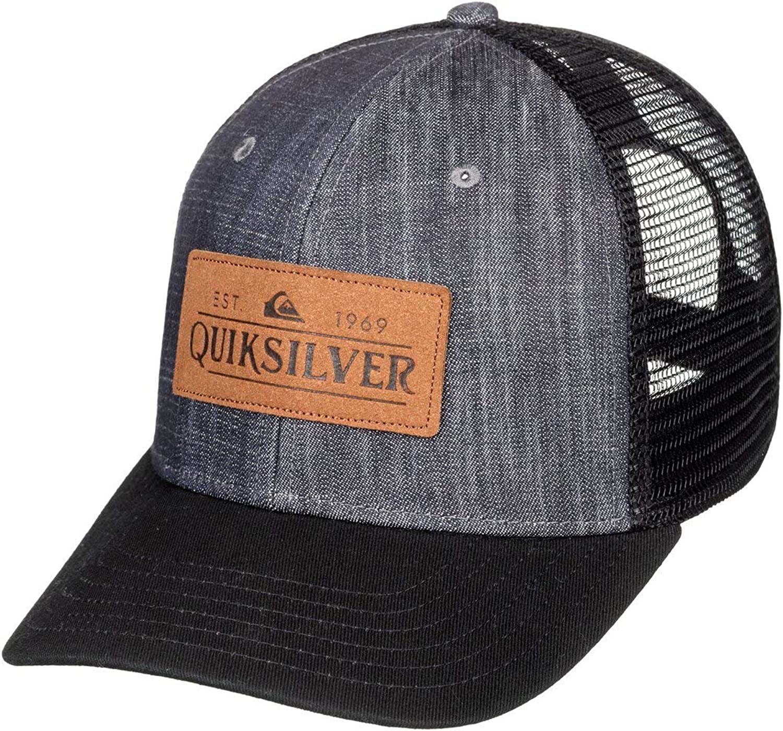 Quiksilver - Gorra Trucker - Hombre - One Size - Negro: Amazon.es ...