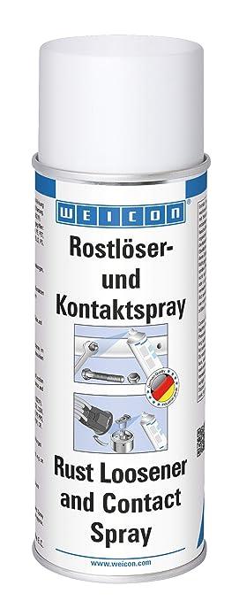 Weicon 11150400 Spray de Contacto y desoxidante, 400ml, Protege y Elimina los componentes oxidados p.ej. en Frenos de Autos, Beige, 400 ml: Amazon.es: Coche ...